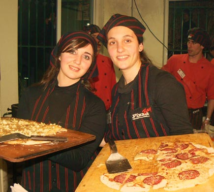 Catering Pizza Bay en SICA
