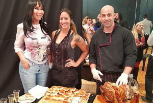 Luz Cenicienta Pizza Bay Catering